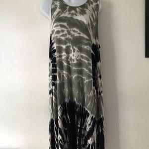 ANA long tie dye summer dress XL